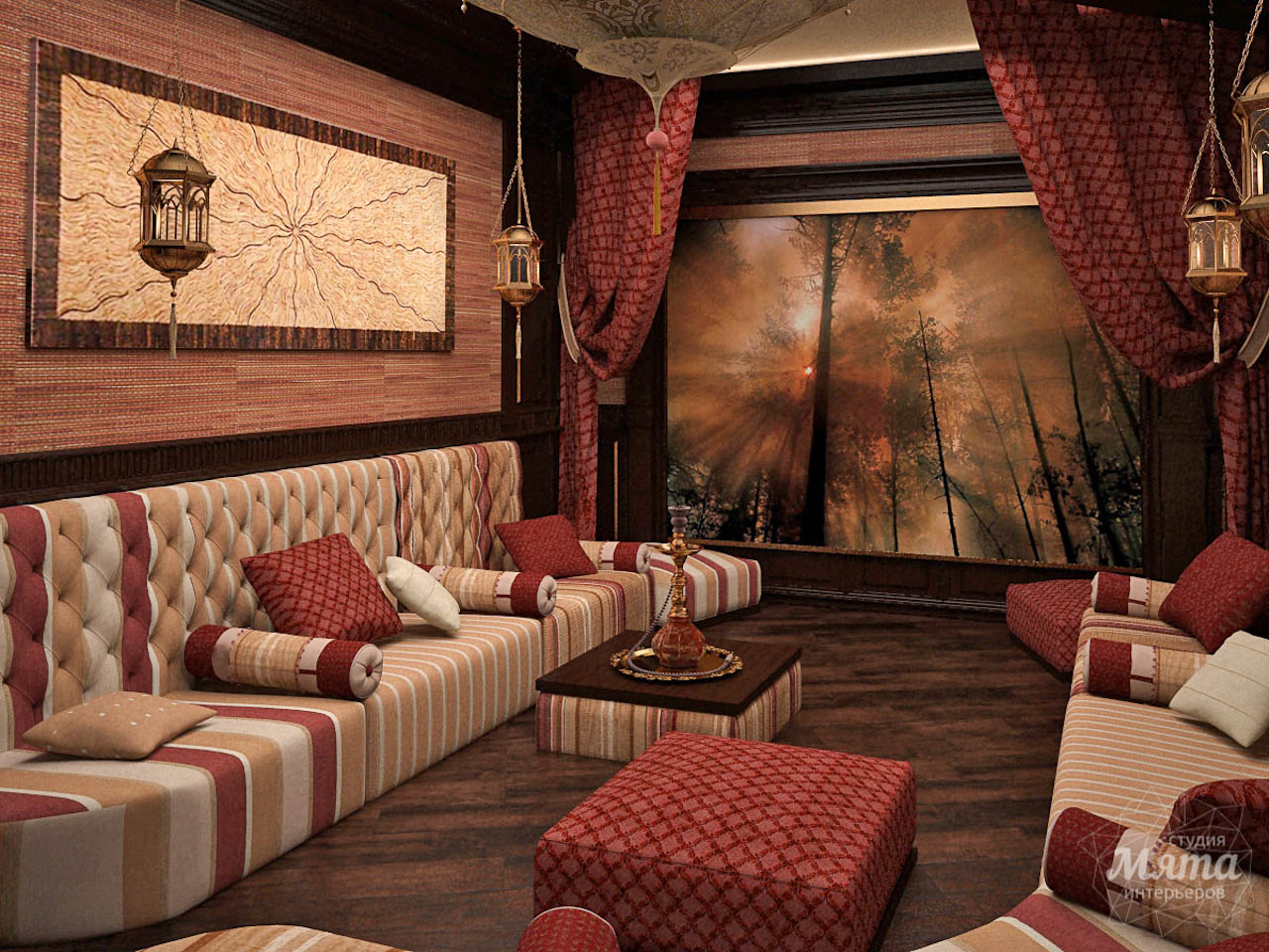Дизайн интерьера коттеджа по ул. Урожайная 59 img1342953576