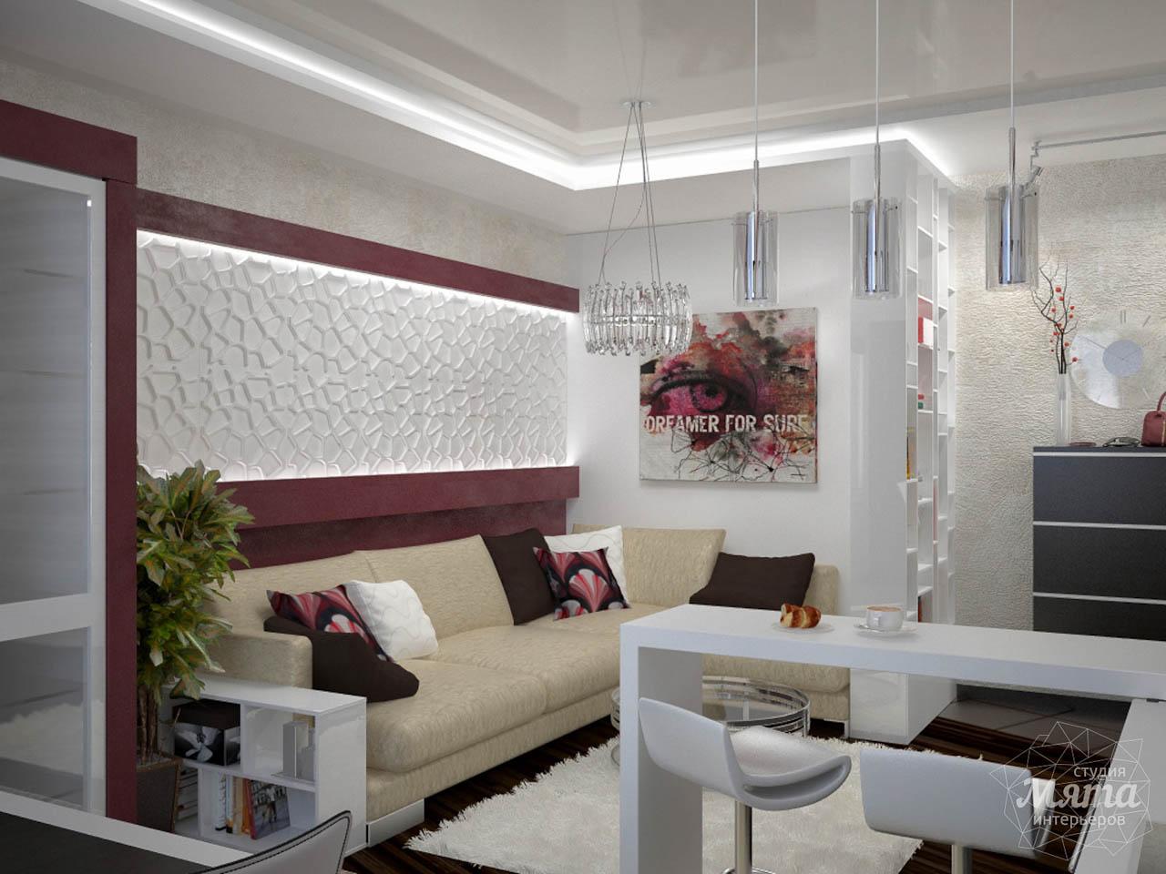Дизайн интерьера и ремонт трехкомнатной квартиры по ул. Попова 33а img743891929