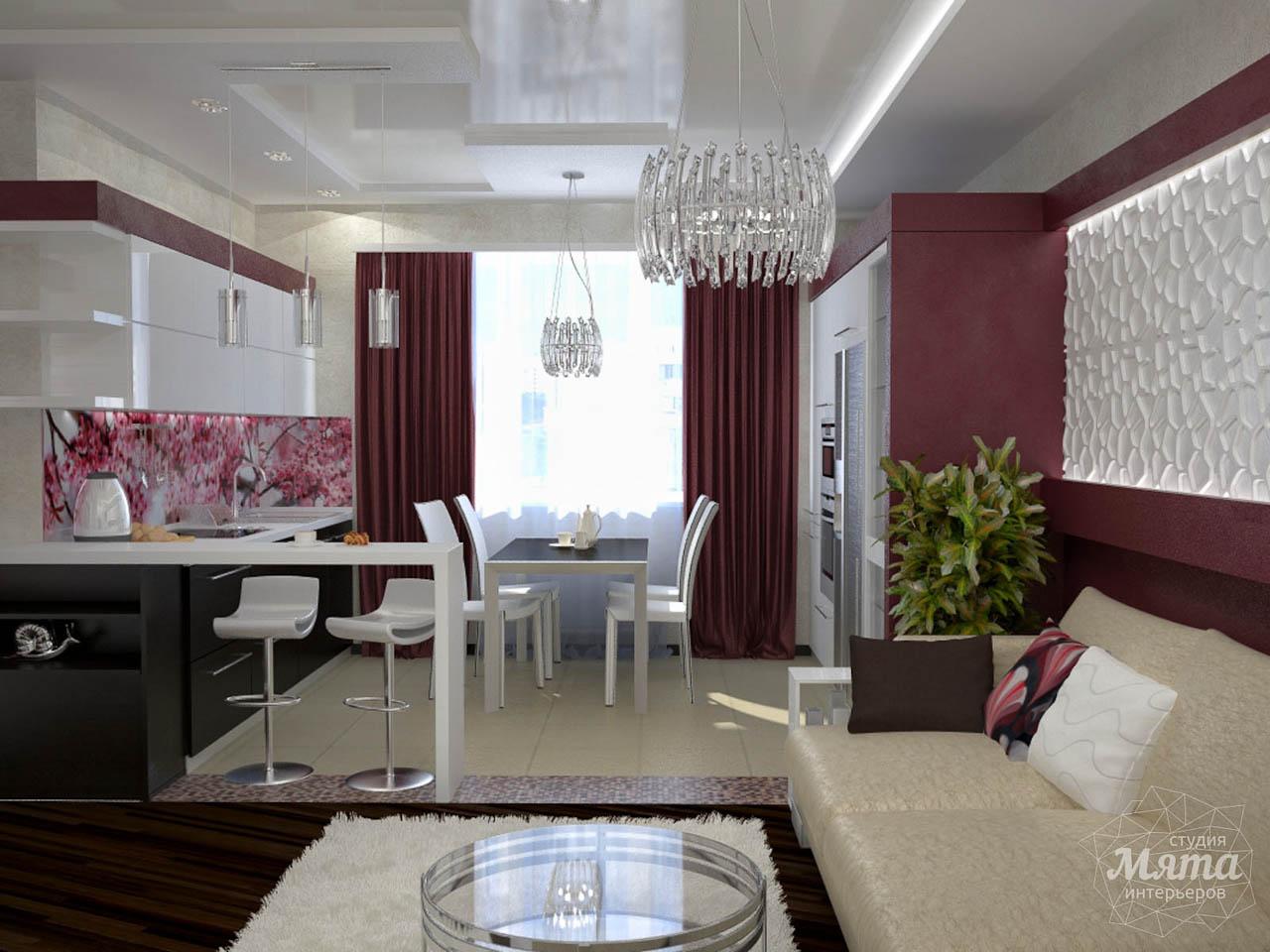 Дизайн интерьера и ремонт трехкомнатной квартиры по ул. Попова 33а img258696801
