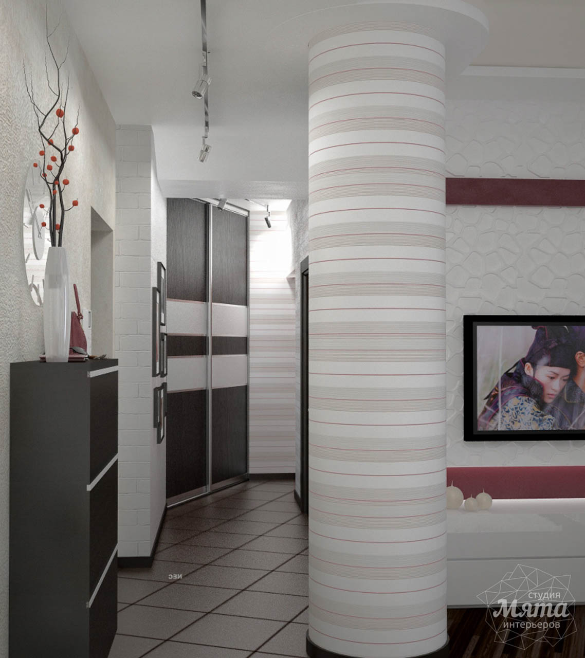 Дизайн интерьера и ремонт трехкомнатной квартиры по ул. Попова 33а img1355128178