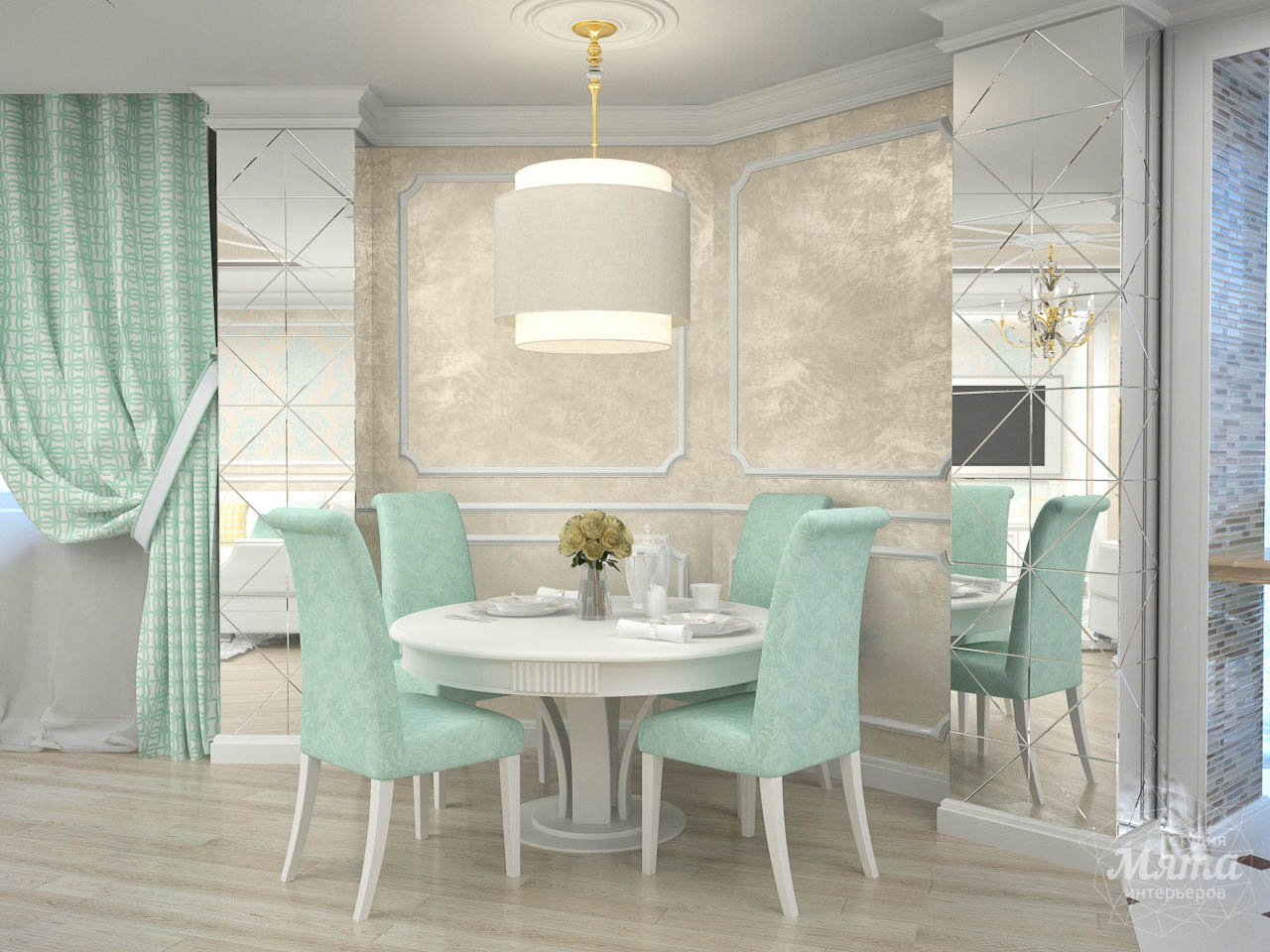 Дизайн интерьера и ремонт трехкомнатной квартиры по ул. 8 Марта 190 img1968749590