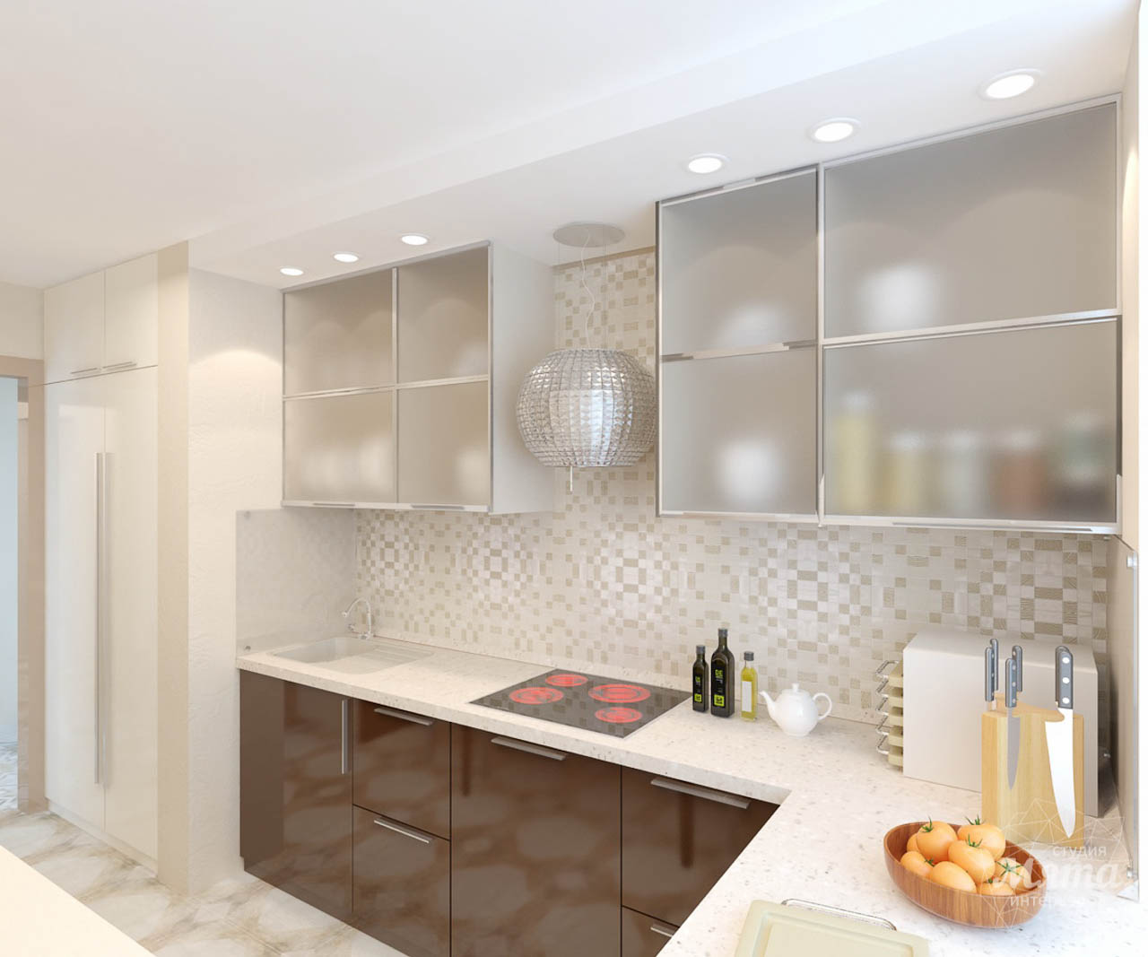 Дизайн интерьера и ремонт однокомнатной квартиры по ул. Бажова 134 img384418883