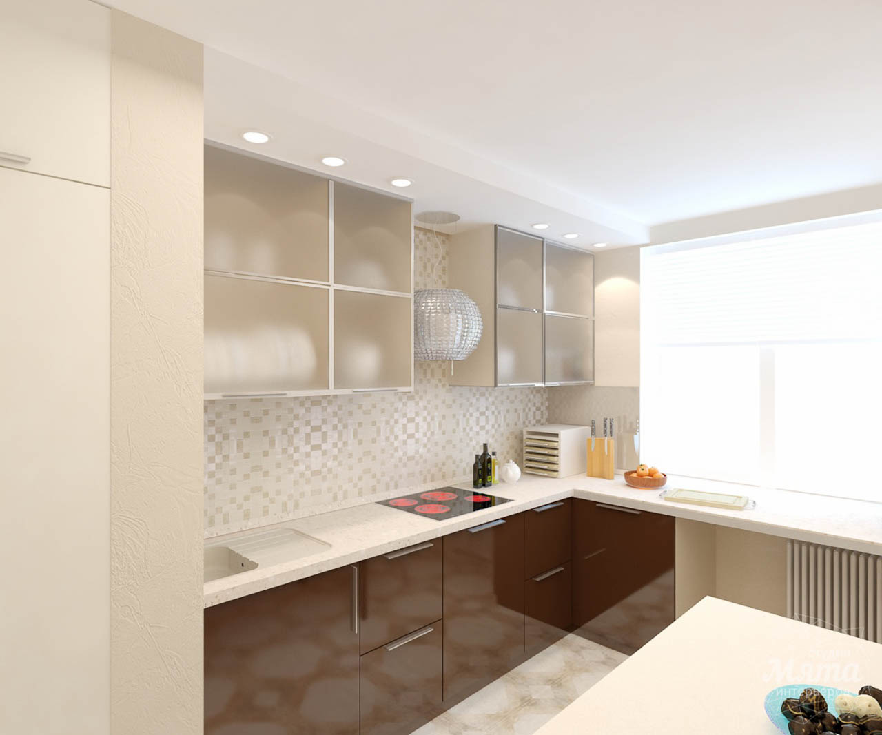 Дизайн интерьера и ремонт однокомнатной квартиры по ул. Бажова 134 img715000780