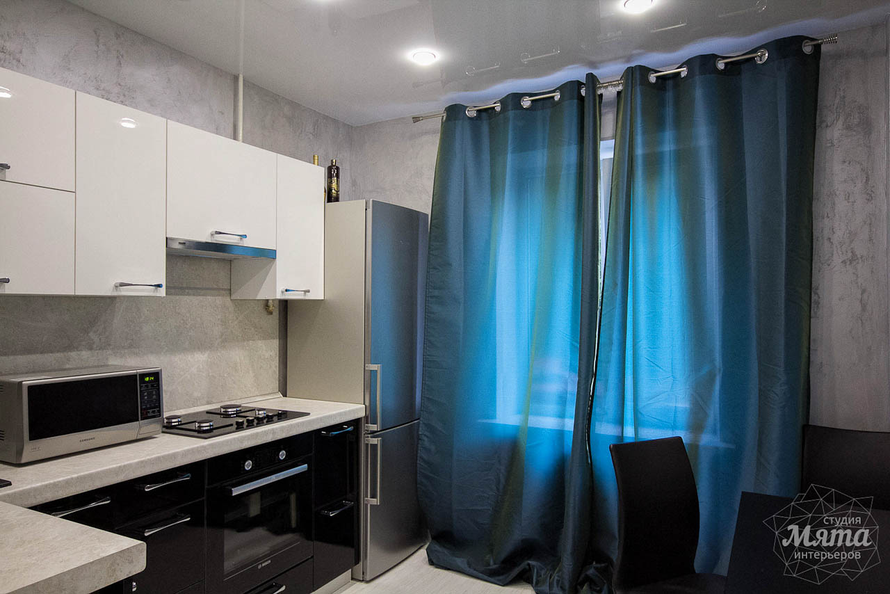 Дизайн интерьера и ремонт однокомнатной квартиры по ул. Комсомольская 45 17