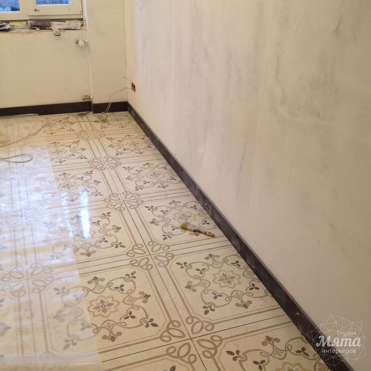 Дизайн интерьера и ремонт однокомнатной квартиры по ул. Бажова 134 7