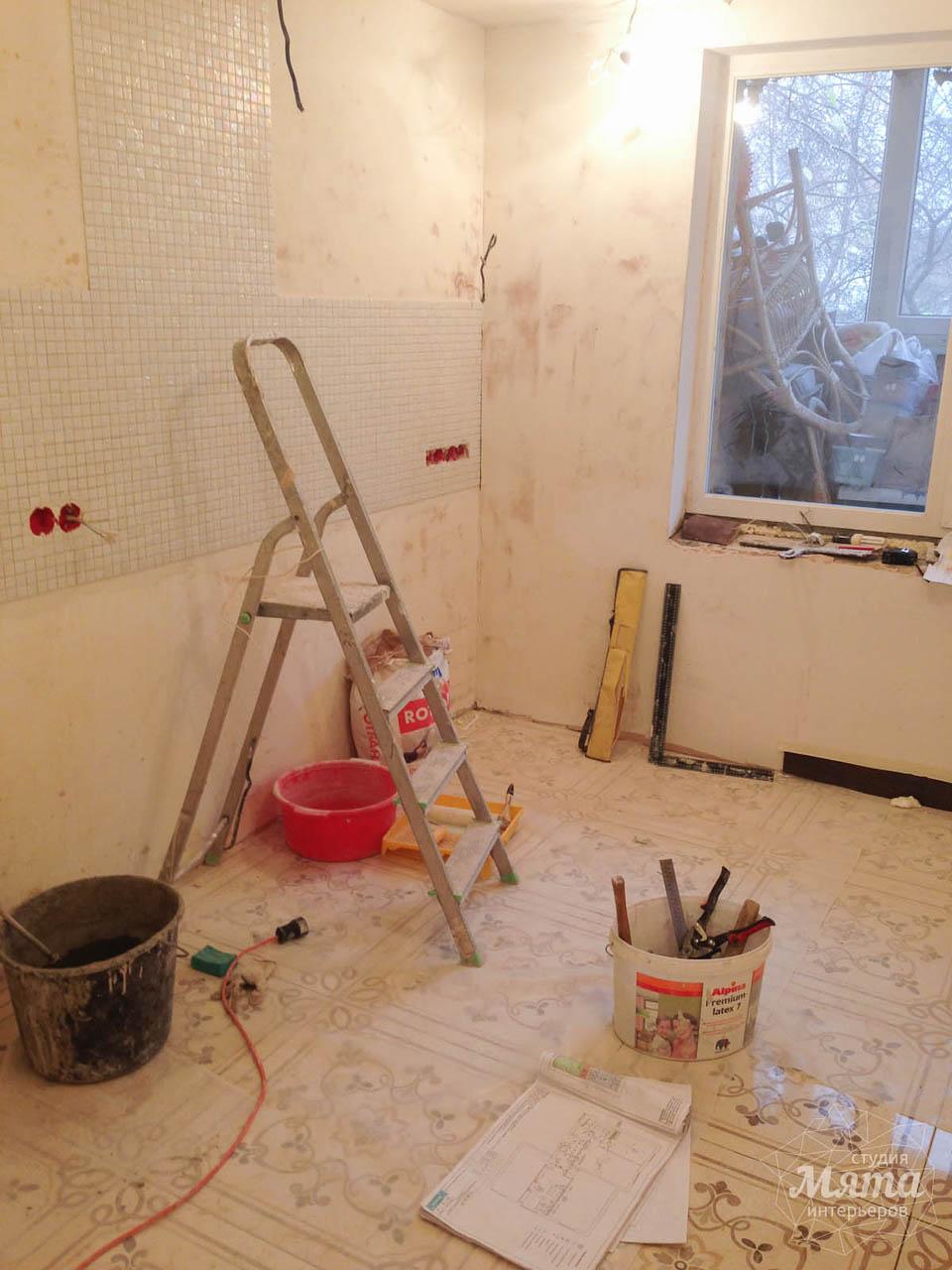 Дизайн интерьера и ремонт однокомнатной квартиры по ул. Бажова 134 10