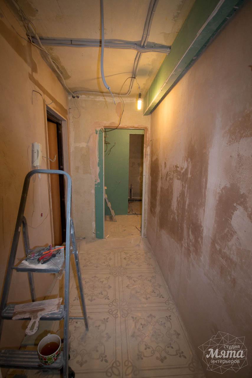 Дизайн интерьера и ремонт однокомнатной квартиры по ул. Бажова 134 4
