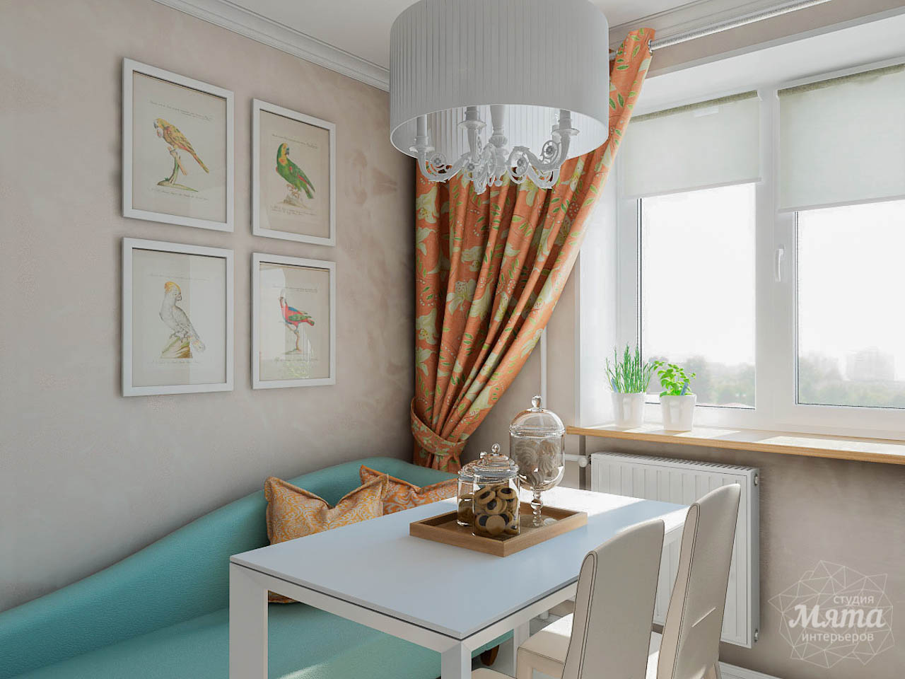 Дизайн интерьера однокомнатной квартиры по ул. Мичурина 231 img115742454