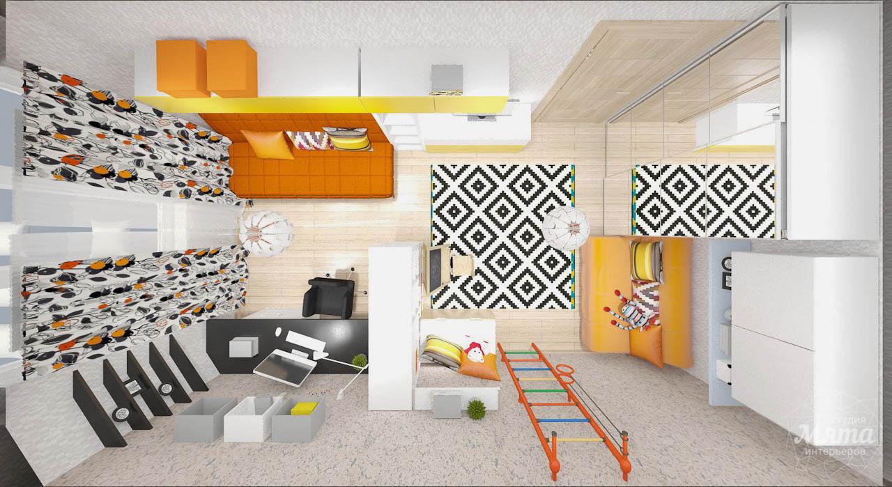 Дизайн интерьера однокомнатной квартиры в современном стиле по ул. Агрономическая 47 img2076395628