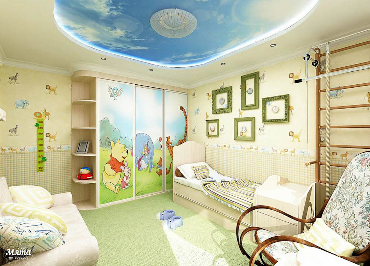 Дизайн интерьера трехкомнатной квартиры по ул. Юмашева 1 img1416391095