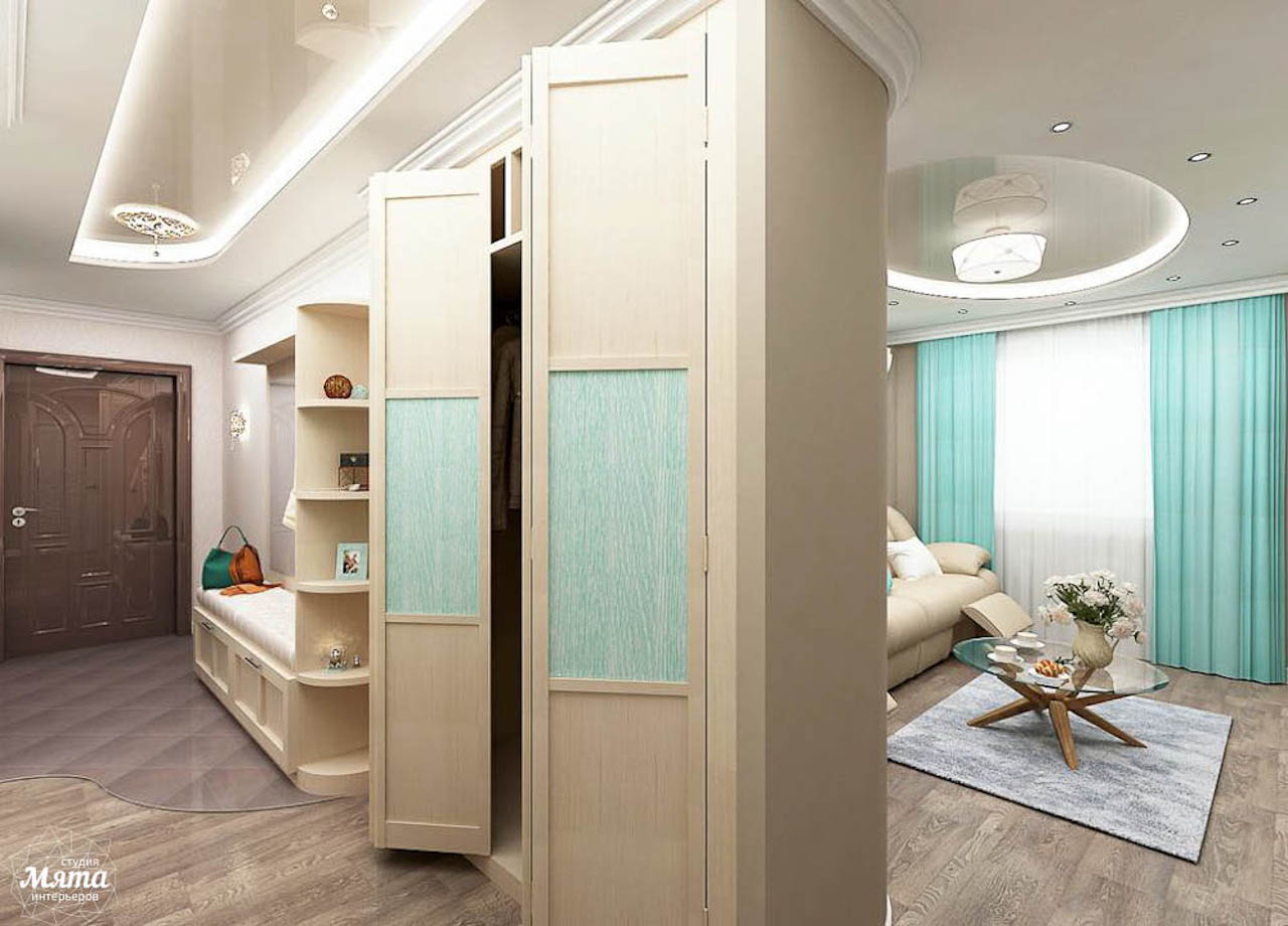 Дизайн интерьера трехкомнатной квартиры по ул. Юмашева 1 img138503984