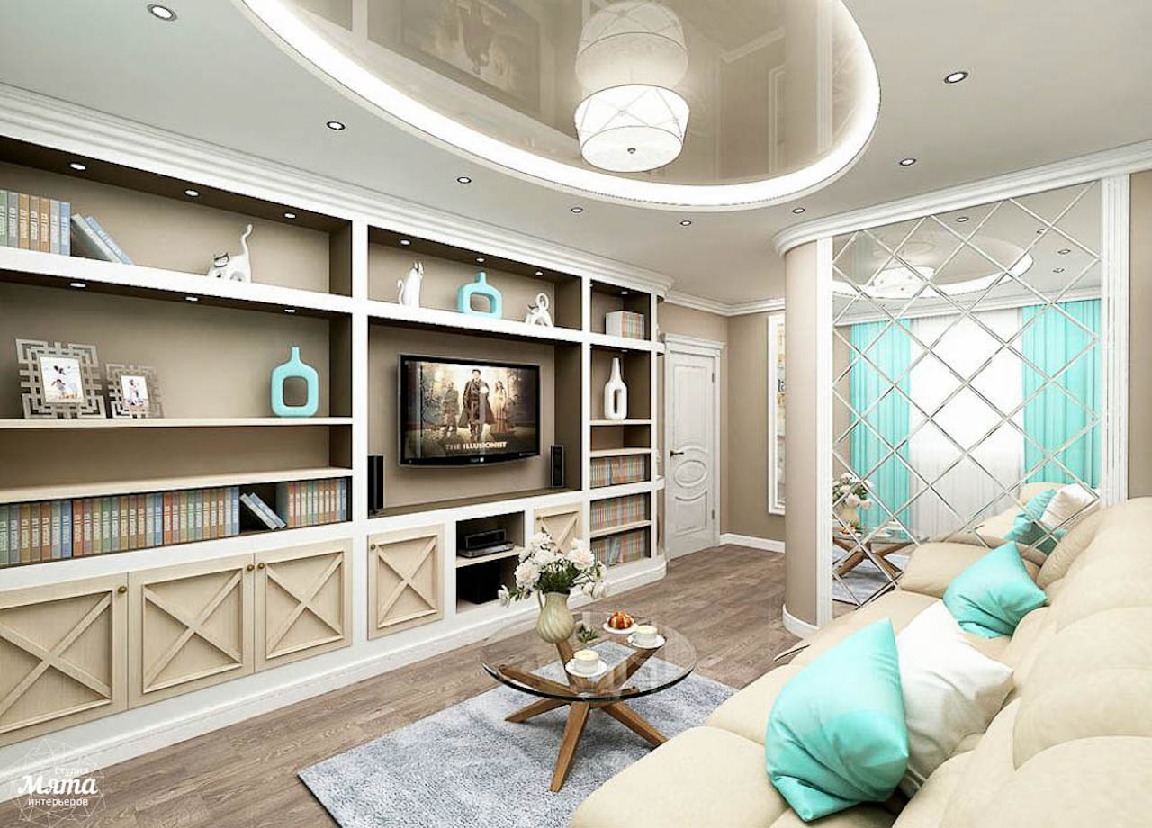 Дизайн интерьера трехкомнатной квартиры по ул. Юмашева 1 img844209313