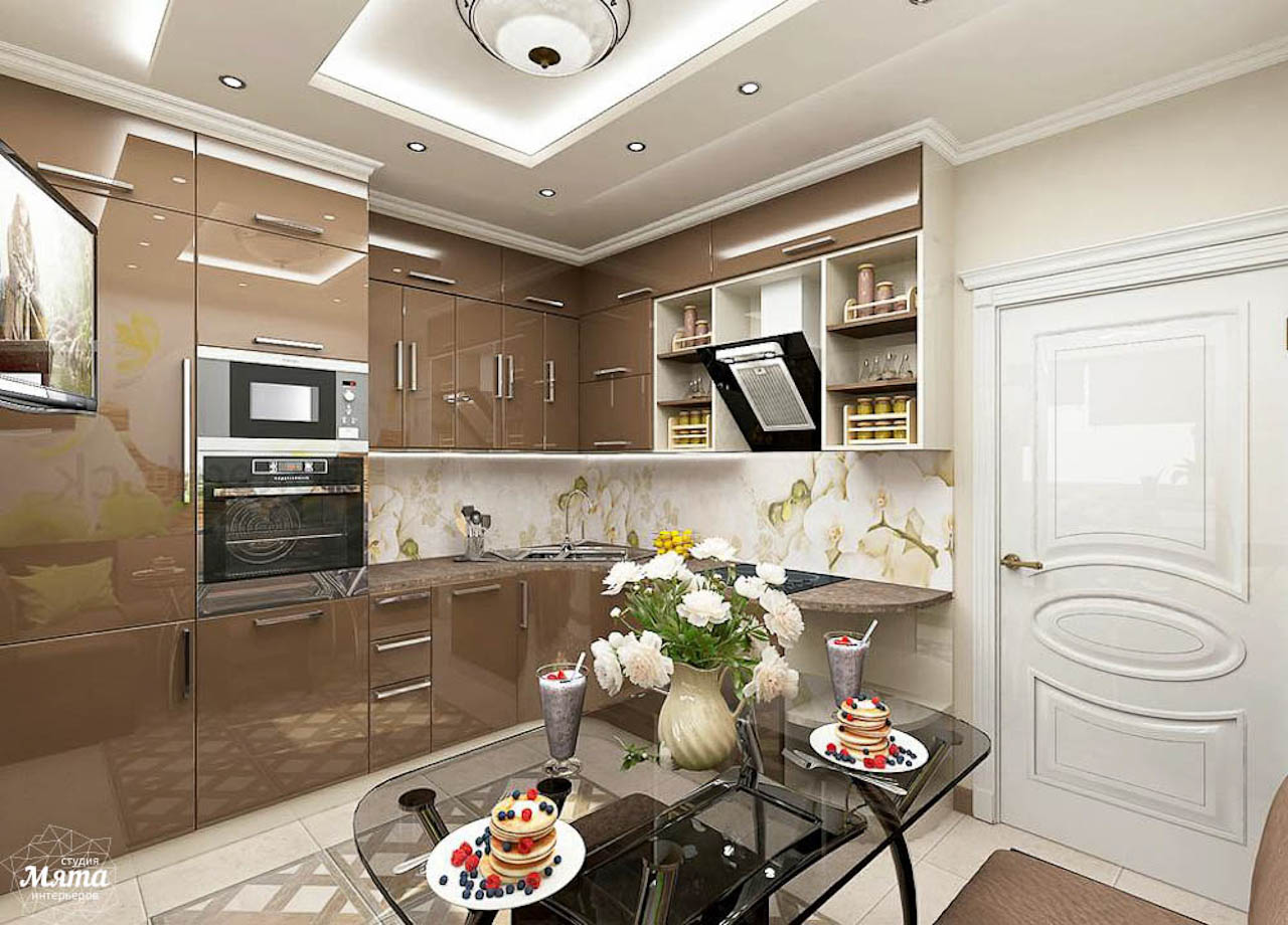 Дизайн интерьера трехкомнатной квартиры по ул. Юмашева 1 img650724814