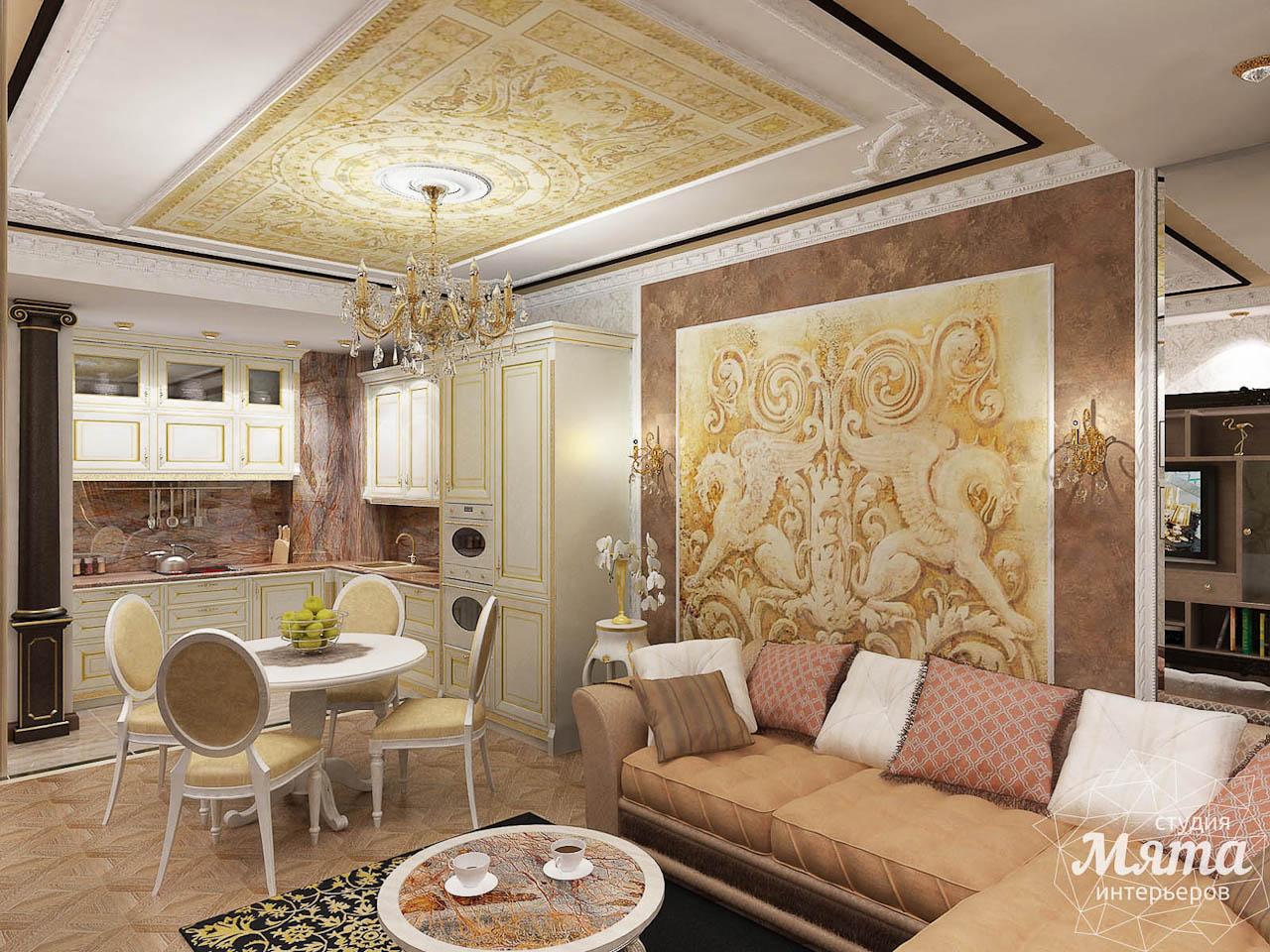 Дизайн интерьера двухкомнатной квартиры по ул. Мельникова 38 img2121341317