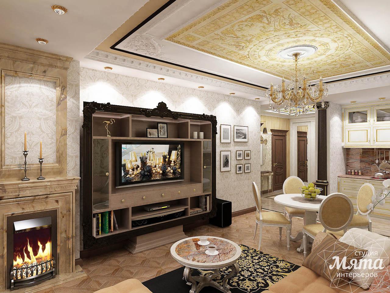 Дизайн интерьера двухкомнатной квартиры по ул. Мельникова 38 img404296578