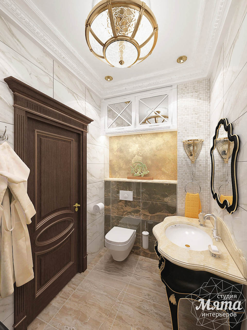 Дизайн интерьера двухкомнатной квартиры по ул. Мельникова 38 img1085743206