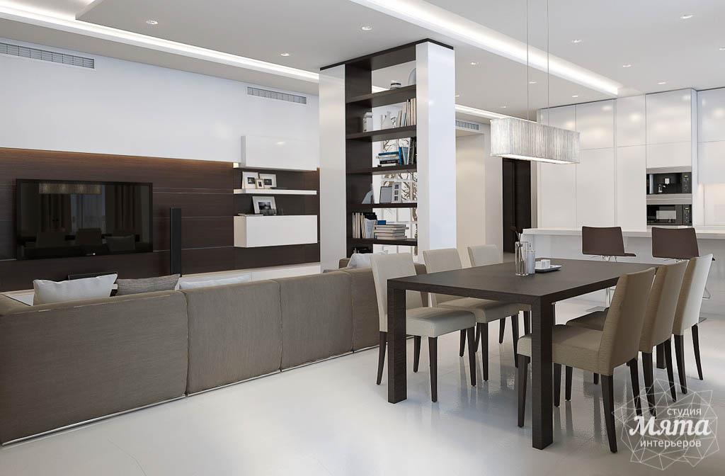 Дизайн интерьера трехкомнатной квартиры по ул. Белинского 86 img850844849