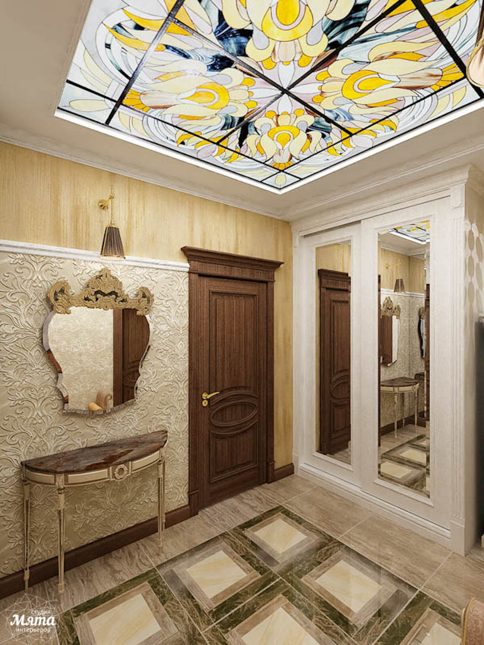 Дизайн интерьера двухкомнатной квартиры по ул. Мельникова 38 img1699517841