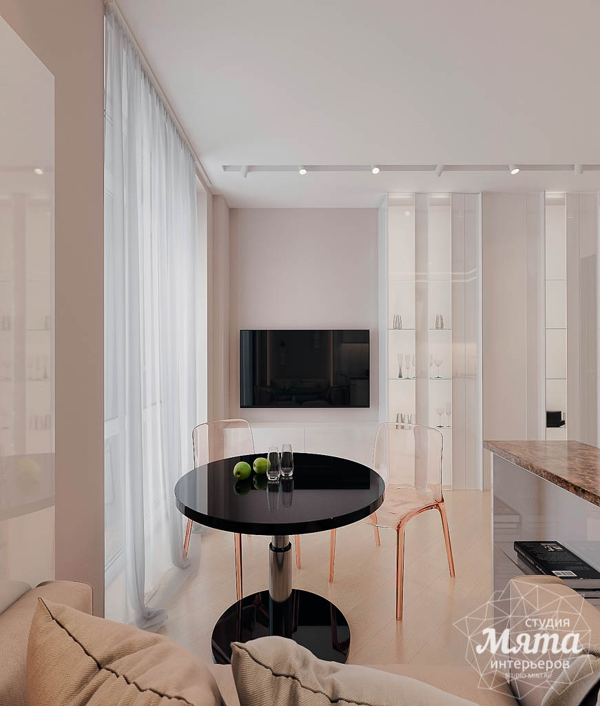 Дизайн интерьера однокомнатной квартиры в ЖК Крылов (1 очередь) img736723355