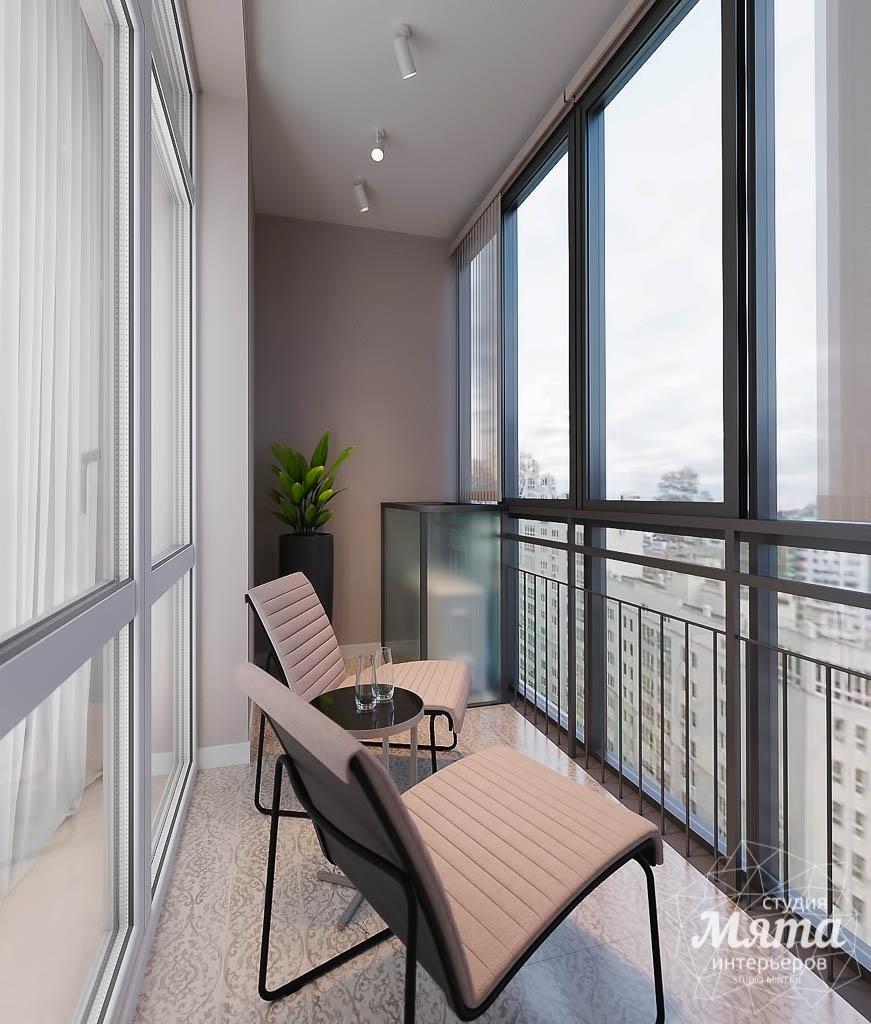 Дизайн интерьера однокомнатной квартиры в ЖК Крылов (1 очередь) img686335496