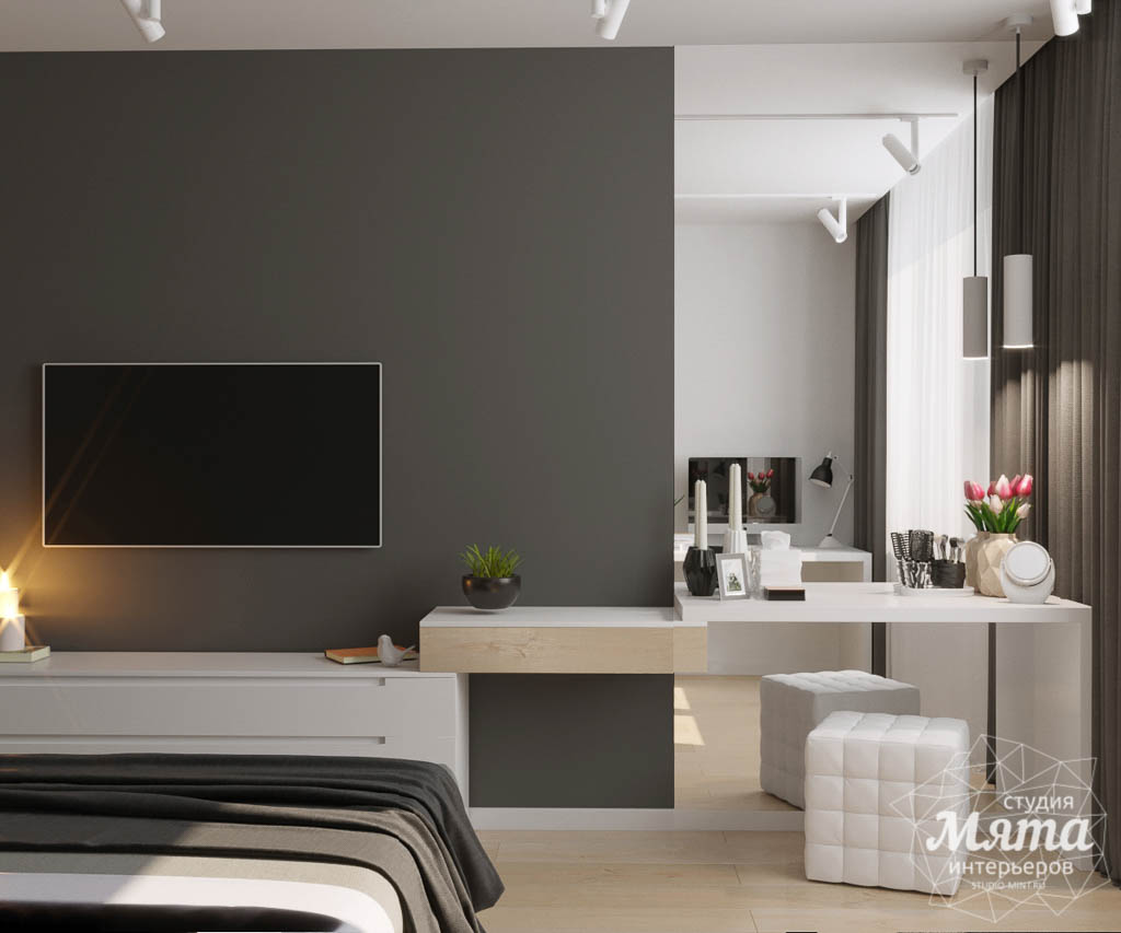 Дизайн интерьера однокомнатной квартиры по ул. Ак. Семихатова 18 img1075980634