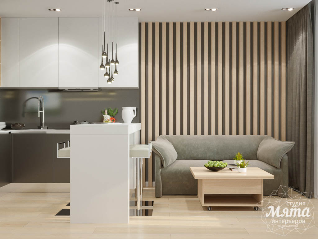 Дизайн интерьера однокомнатной квартиры по ул. Ак. Семихатова 18 img1300702041