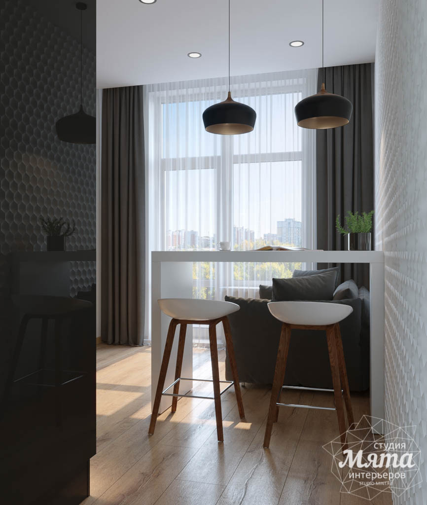 Дизайн интерьера однокомнатной квартиры в ЖК Чемпион Парк img773278099