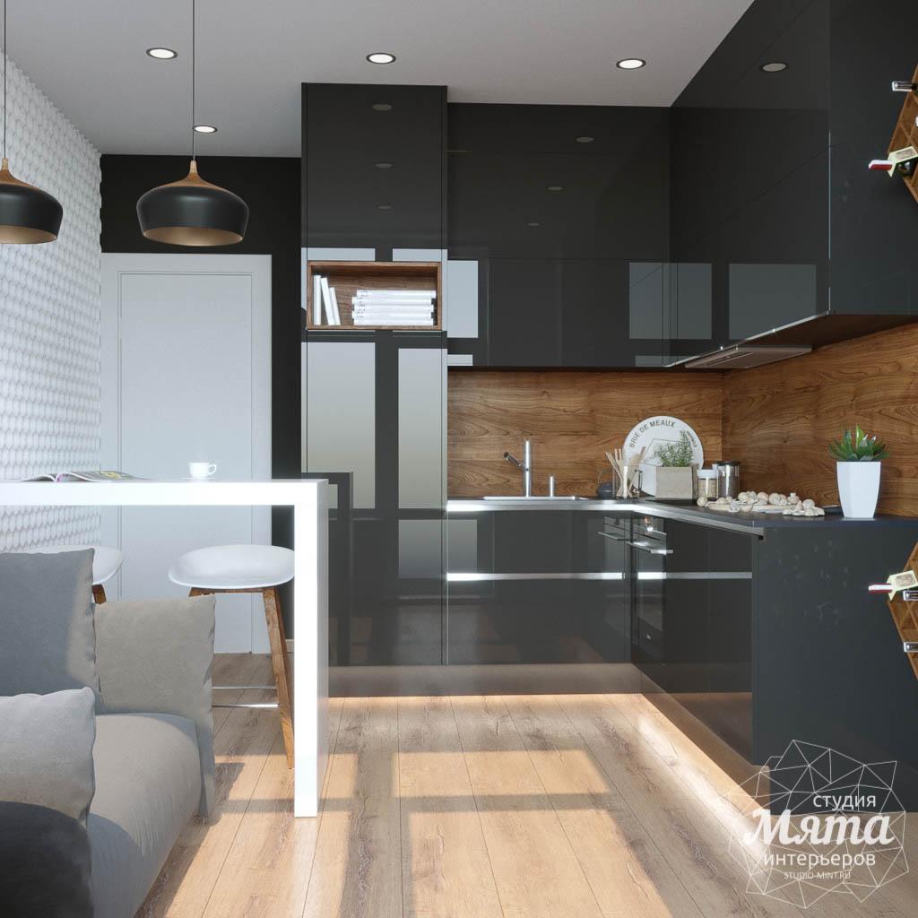 Дизайн интерьера однокомнатной квартиры в ЖК Чемпион Парк img566972880