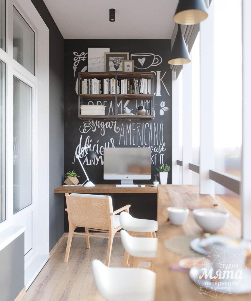 Дизайн интерьера однокомнатной квартиры в ЖК Чемпион Парк img2006514735