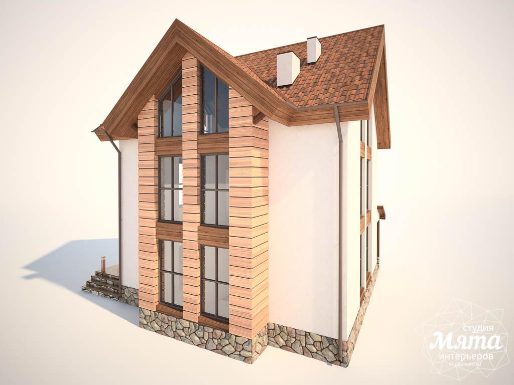 Дизайн фасада коттеджа в Хрустальном img1376240265