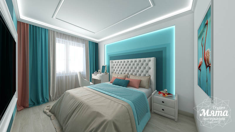 Дизайн интерьера двухкомнатной квартиры в ЖК Первый Николаевский img2121105048