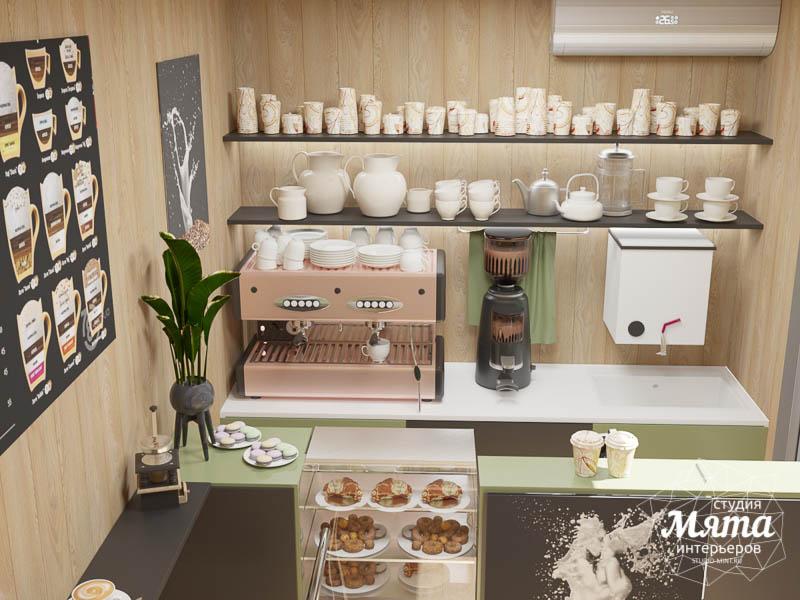 Дизайн интерьера маленькой кофейни   Екатеринбург img1955820339