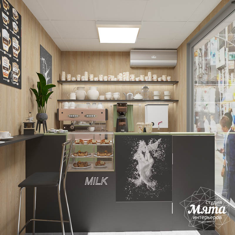 Дизайн интерьера маленькой кофейни   Екатеринбург img343859871