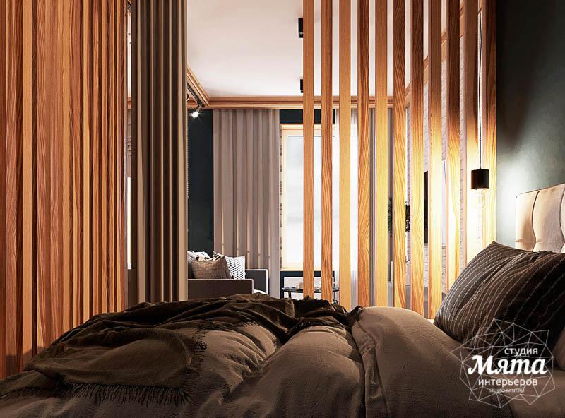 Дизайн интерьера квартиры - студии в ЖК Солнечный img1909863943