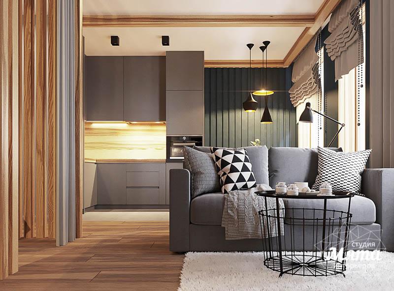Дизайн интерьера квартиры - студии в ЖК Солнечный img383085179