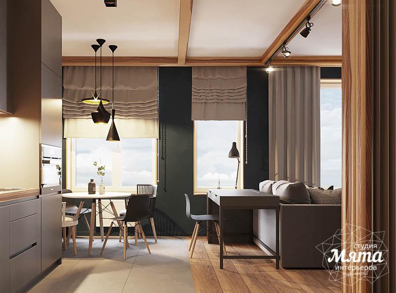 Дизайн интерьера квартиры - студии в ЖК Солнечный img315185236