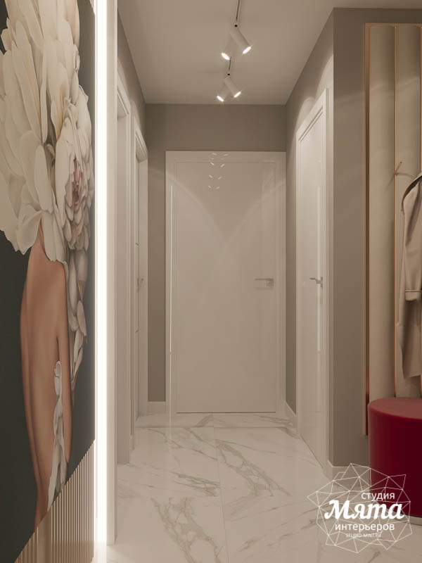 Дизайн интерьера двухкомнатной квартиры в ЖК Репин Парк img1834415765