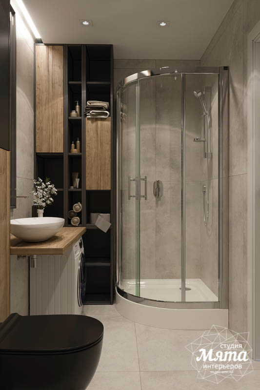 Дизайн интерьера двухкомнатной квартиры в ЖК Репин Парк img1013194189