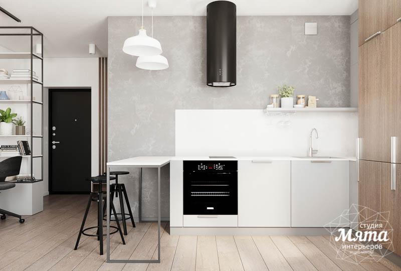 Дизайн интерьера квартиры - студии в ЖК Стрелки img366701563