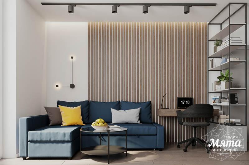 Дизайн интерьера квартиры - студии в ЖК Стрелки img1775709837