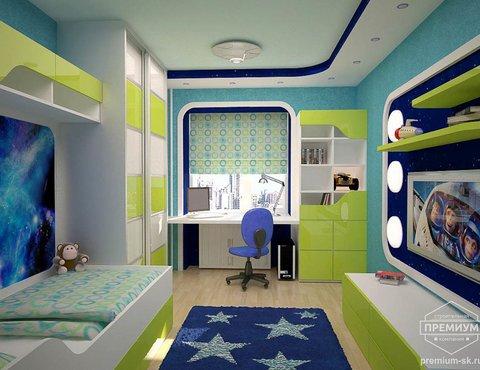 Дизайн интерьера детской по ул. Радищева 33